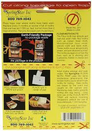 Moths In Kitchen Cabinets Amazon Com Bio Care Naturals S201 Pantry U0026 Flour Moth Trap Pet