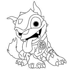 skylander giants coloring pages free large images skylanders