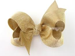 hair bows for baby gear galore gold hair bow gold baby hairbow 3 4 or 5
