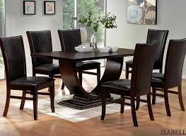 Black And Wood Dining Table Black Wood Dining Room Sets Gen4congress Com