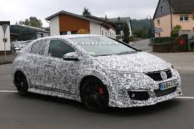honda ricer wing scoop is honda softening the looks of 2015 civic type r