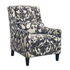 Patterned Accent Chair Ashley Owensbe Fabric Accent Chair In Smoke 751xx21