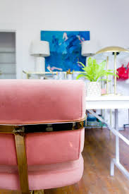 Pink Office Chair My Official Ish Office Reveal U2014 M Pettipoole