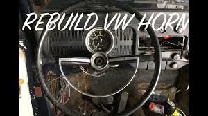 classic vw bug horn rebuild re wire a classic volkswagen horn