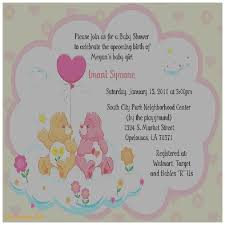 baby shower invitation best of care bear baby shower invitatio