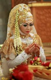indonesian brides new bridal hijab designs for your wedding day hijabiworld