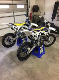 husqvarna motocross bikes for sale 2 husqvarna tc 112 supermini national race bikes for sale for