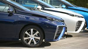 hydrogen fuel cell car toyota toyota has three hydrogen fuel cell cars in australia right now