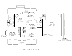 2 Car Garage Floor Plans Houseplans Biz House Plan 2544 B The Hildreth B W Garage