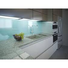 credences cuisine quels matériaux pour la crédence de cuisine verre inox métal