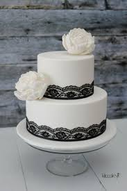 wedding cake black lace black lace cake wedding cakes black