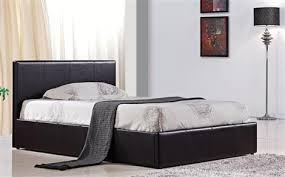 Single Ottoman Bed Leather Beds Leather Bed Frames Furniture Choice