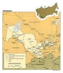 Detailed World Map Maps Of Uzbekistan Detailed Map Of Uzbekistan In English