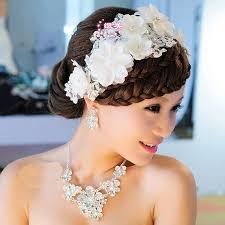 wedding headdress aliexpress buy 2017 new hair accessories lace flowers