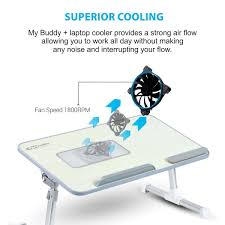 amazon in buy portronics por 704 adjustable laptop cooling table