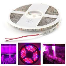 12v dc led grow lights led plant grow strip light waterproof 1m dc 12v 5 red 1 blue 5050