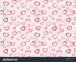 heart wrapping paper heart motif pattern on stock vector 521536639