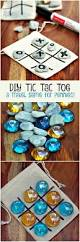 diy tic tac toe game board for only pennies kids crafts