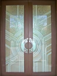 wood doors with glass inserts doors with glass insert home design