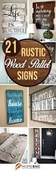 25 unique rustic wood signs ideas on pinterest pallet art diy