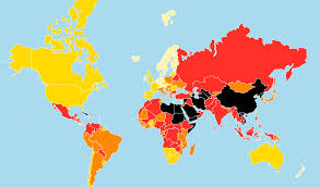 Where Is Germany On The Map by 2017 World Press Freedom Index Rsf
