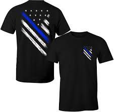Kenya Flag Clothing Thin Blue Line Shirt Police Usa Flag Shirt Blue Lives Matter