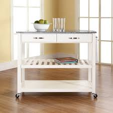 crosley kitchen island crosley kitchen island with granite top reviews wayfair