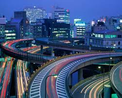 hd wallpapers modern architecture night in tokyo wallpapers