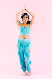 princess jasmine halloween diy jasmine from aladdin halloween costume brit co