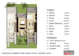 3 bedroom duplex in luxury residence in pa klok