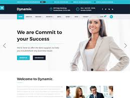 dynamic u2013 business free html template is best suited for corporate