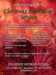 jhid is now offering christmas decorating services jill hertz