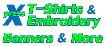 Custom Embroidery Shirts Xpress T Shirts U0026 Embroidery Express Yourself With Apparel