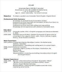 Cv Sjabloon Nederlands 32 template word resume resume template word fotolipcom rich image