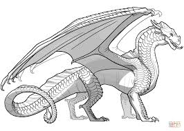 coloring fire coloring pages wings sandwing dragon