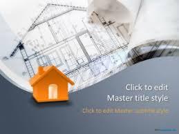 building design ppt template