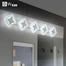 aliexpress com buy bwart 8 18w diy bedroom bathroom led mirror