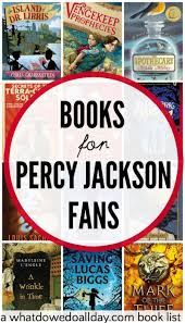 20 thrilling books for who like percy jackson