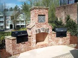 collection of grills u0026 outdoor cooking ideas outdoor brick grill