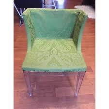 kartell philippe starck mademoiselle chair in green aptdeco