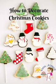 how to decorate my home for christmas christmas cookie decorating with fondant tutorial veena azmanov