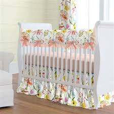 Floral Crib Bedding Sets Floral Baby Bedding Floral Crib Bedding Carousel Designs