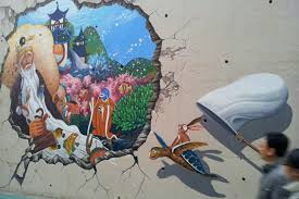 a guide to south korea s most charming mural villages fairytale mural for a fairytale village in songwol dong image by trent holden