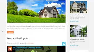real homes wordpress real estate theme youtube