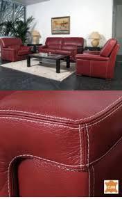 mistergooddeal canapé 3 1 1 ensemble canapé cuir paire de fauteuils