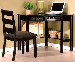Black Corner Computer Desks For Home Furniture Fetching Small Corner Desk With Drawers For Your Home