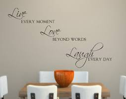 live love laugh live love laugh vinyl wall decal decor lettering words for the
