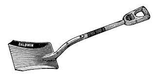free vintage shovel clip art images the graphics fairy 2 clipartix
