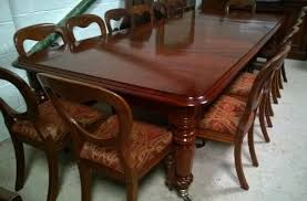 12 Seater Dining Table And Chairs A Most Handsome Wm Iv 12 Seater Mahogany Dining Table 433293