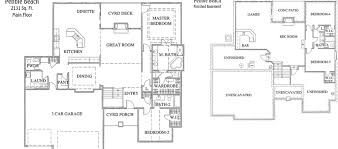 house plans with finished basements finished basement house plans lower floor plan of house plan